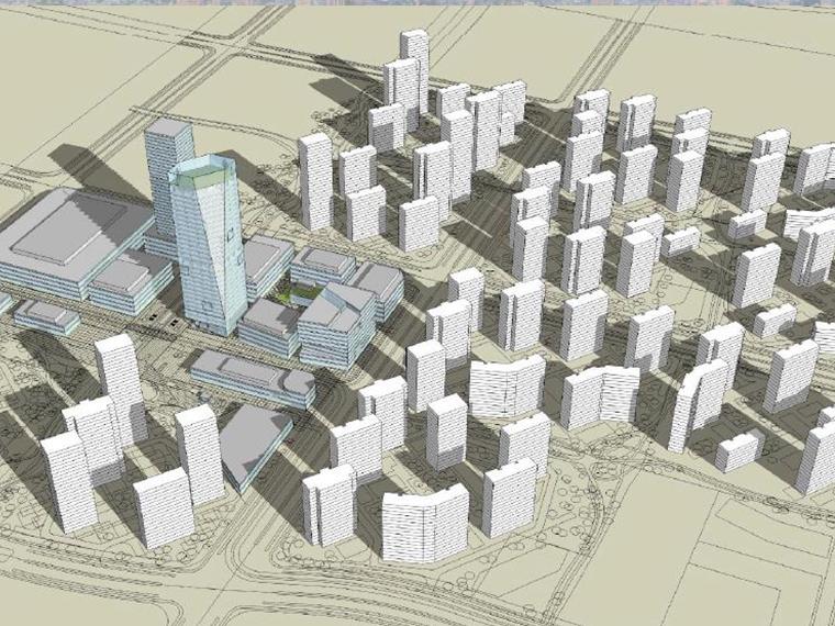 [天津]SOM生态城概念设计方案文本