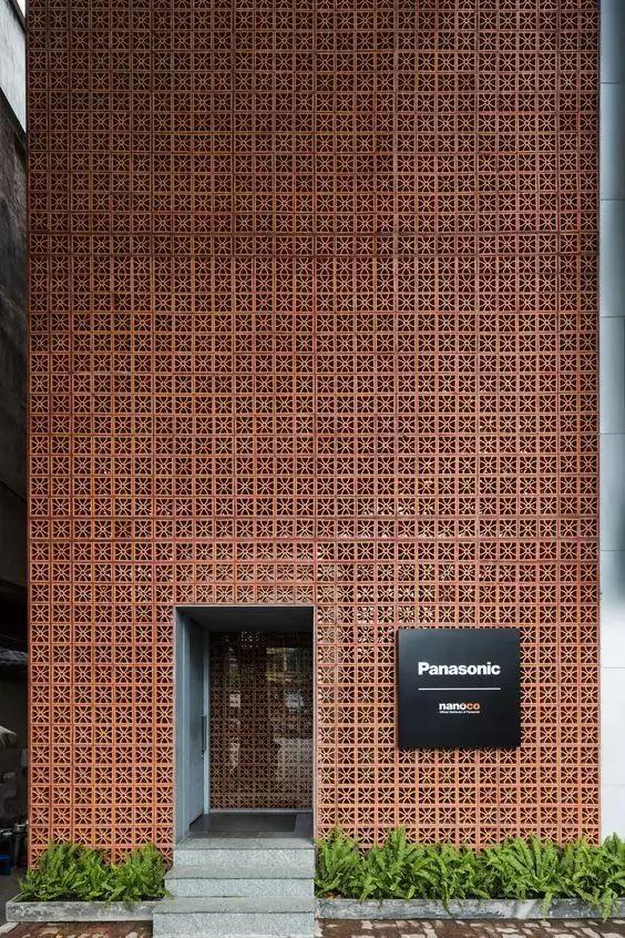 超有设计感的建筑入口_22