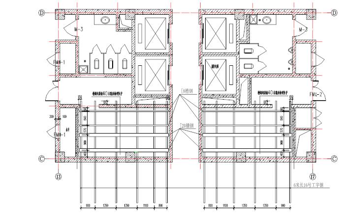 框剪结构高层综合楼楼梯模板支设施工方案