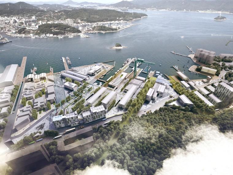 韩国CampMare港口城市规划