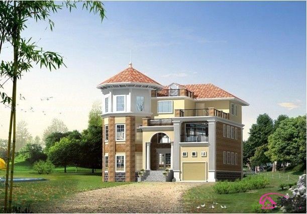 农村两间两层楼房设计图