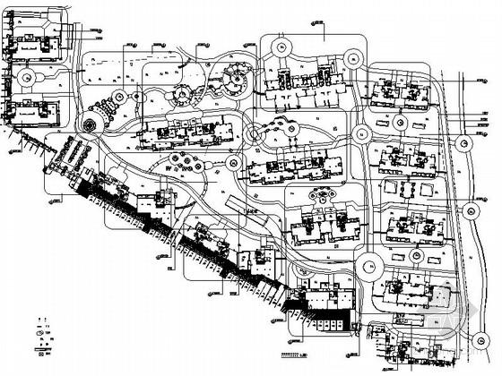 [福建]欧式现代风格高尚住宅规划设计施工图