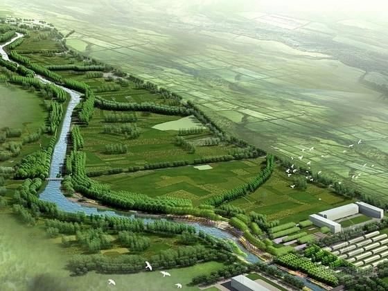 [山西]煤矿滨河两岸景观带设计方案(北京知名设计院)