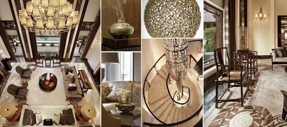 [廊坊]高档豪华五星级酒店总裁会所概念设计方案客厅概念图