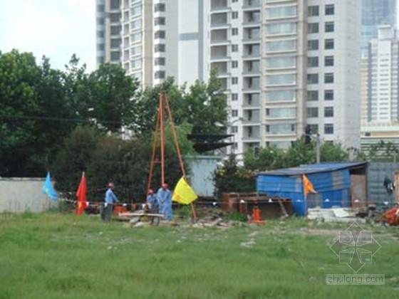 [上海]软土地区超高层建筑勘察设计报告-静力触探
