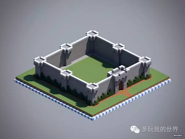 值得学习的建筑技巧设计非常独特的十款城墙_2