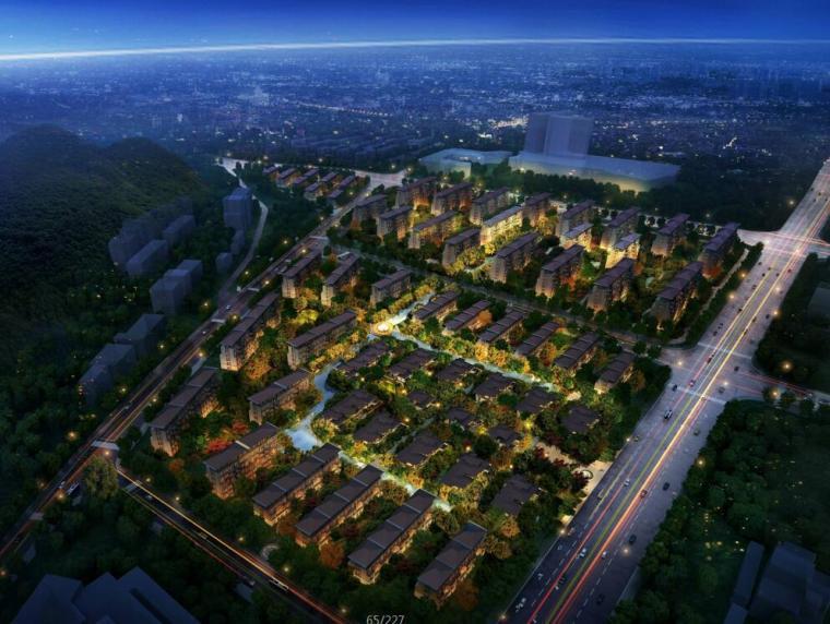 [江苏]新中式风格联排别墅居住区建筑方案文本(JPG+227页)