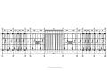 冠县实验高中大门及围墙建筑结构施工图(含电气设计)