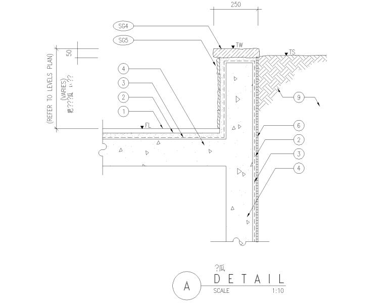 精选路缘侧石设计施工图(25套)-侧石004