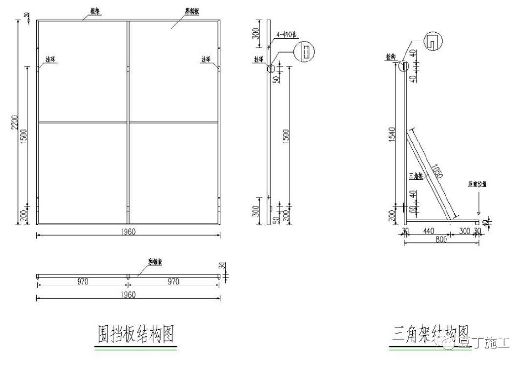 6种常用施工围挡的做法详图_14