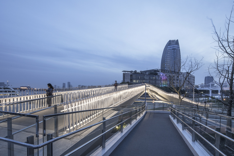 上海日晖港步行桥-7