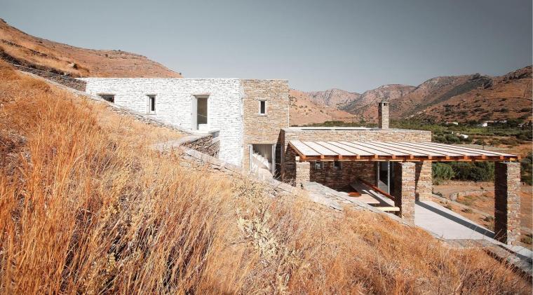 希腊的岛屿住宅