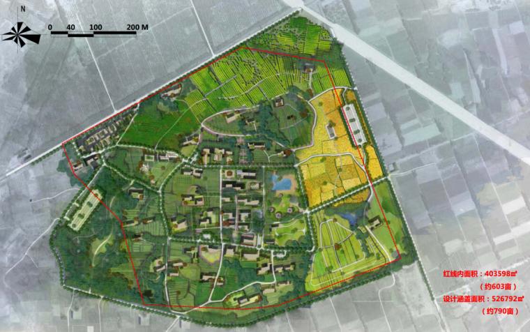 [内蒙古]休闲田园乡村景观改造概念性设计方案