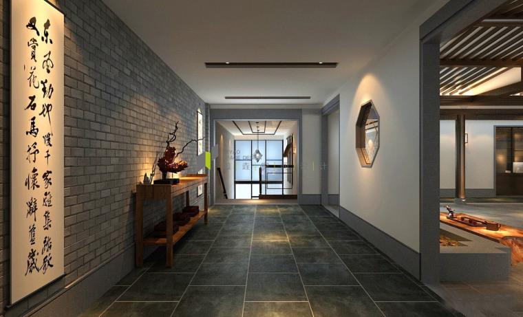 济南新中式风格的办公空间-2