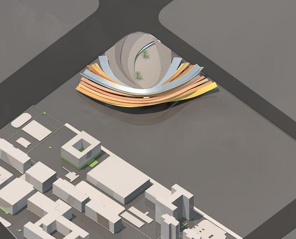 UA设计院居住区文本资料下载-南昌凤凰洲商业综合楼建筑设计方案文本(知名设计院)
