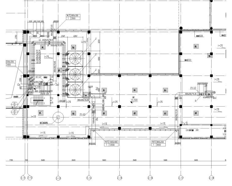 [上海]业务处理三号楼及后勤服务中心暖通施工图(含通风空调及防排烟图纸等)_6