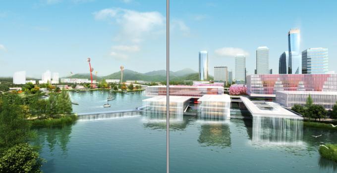 [江苏]滨江现代低碳示范区山水田园城市规划景观设计方案_3