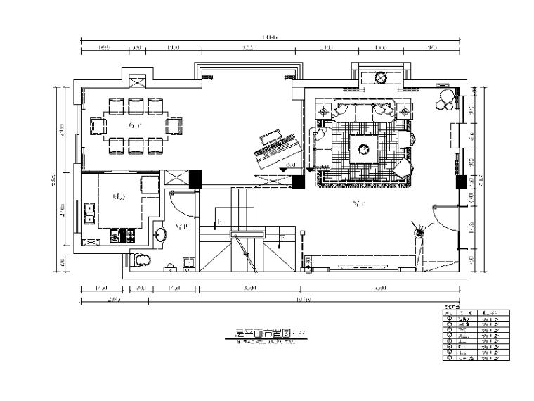 整套别墅样板房设计CAD施工图(含效果图)