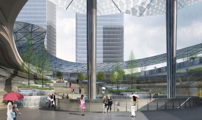"""[湖北]""""海绵城市""""生态智能体验式商业街区景观设计方案(上、中、下篇3个文本)_2"""