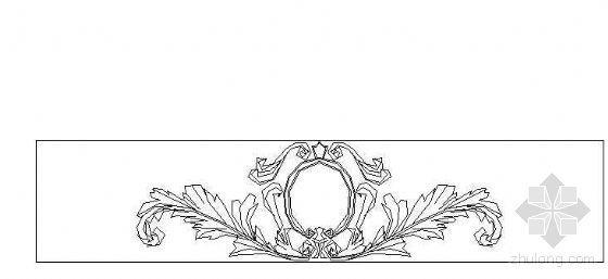 欧式雕花图块13