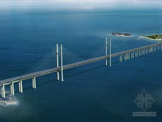 [福建]公铁两用跨海特大桥墩柱工程施工组织设计(深水平台 2013年)