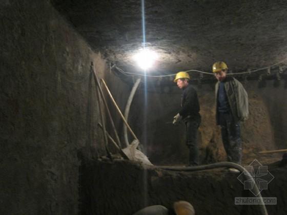 [北京]地铁工程暗挖结构与现状污水管线交叉处理施工方案