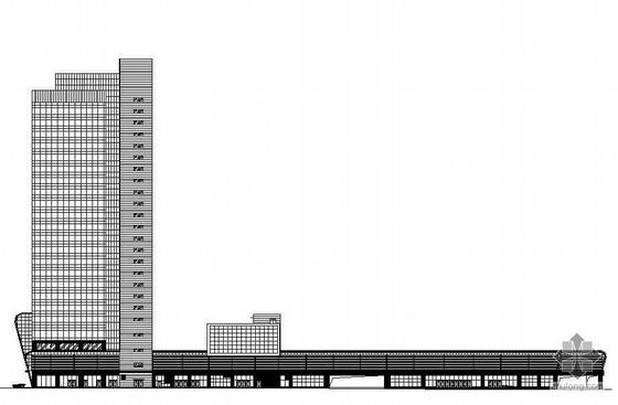 [沈阳]某汽车客运站建筑施工图纸
