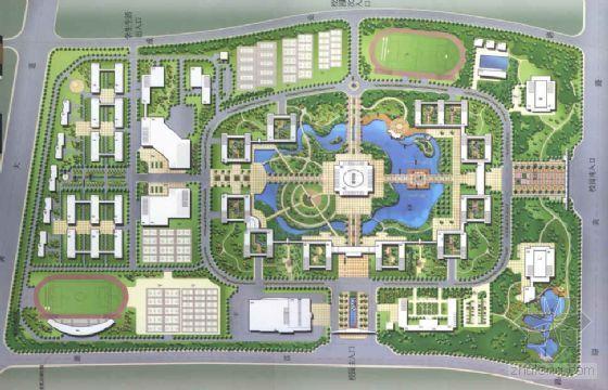 [安徽]大学环境景观设计方案