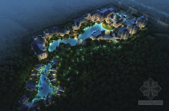 [云南]欧式风格温泉度假大酒店建筑设计方案文本