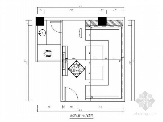 [厦门]现代高档KTV包厢室内装修施工图