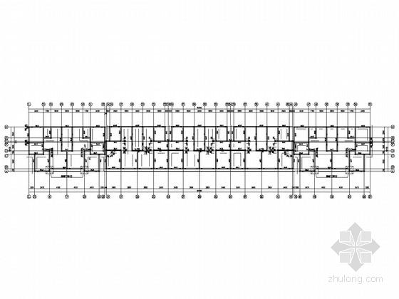 六层砖混结构公寓楼结构施工图