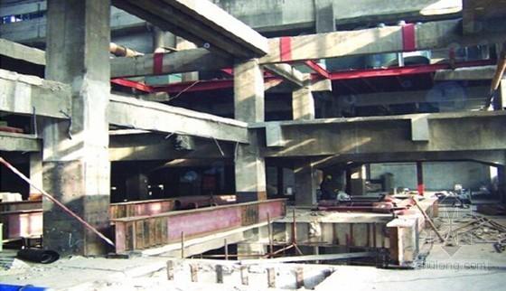 [浙江]框架结构校园加固工程施工组织设计