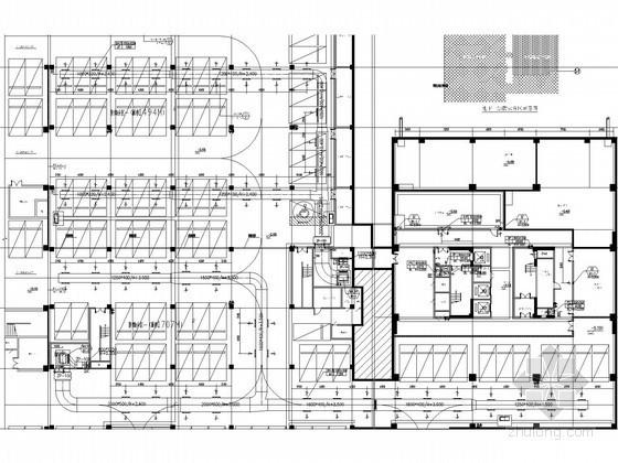 [安徽]交通信息综合办公楼空调通风及防排烟施工图(多联机空调系统)