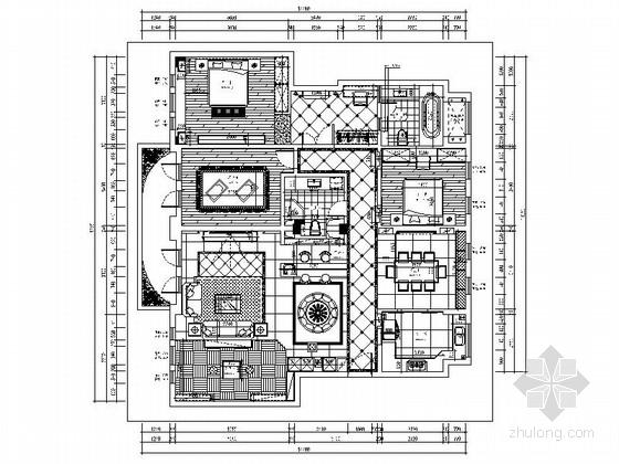 某高档奢华欧式五室两厅装修图