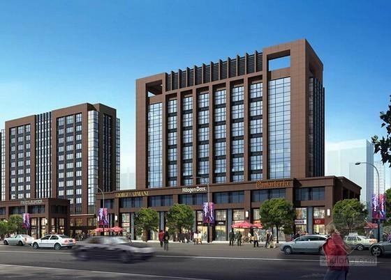 [山东]大型居住区及配套商业项目建设工程预算书(全套报表)