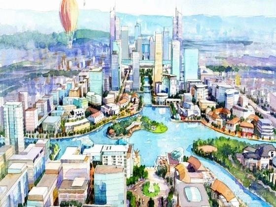 [江苏]无锡东城核心区城市设计方案文本