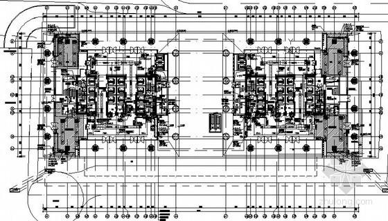 [深圳]商务中心空调设计施工图174张(200米 45万平)