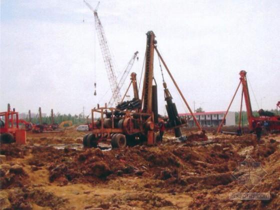 [广东]商住楼基坑围护钻孔灌注桩施工方案