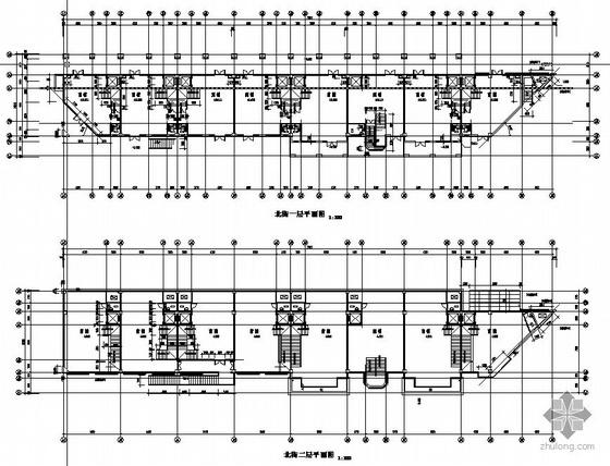 某商业街四层单体方案图(北街)