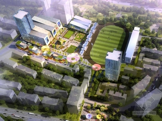 [青海]绿色生态型全民健身活动中心设计方案文本
