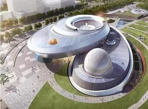 BIM打造唯美上海天文馆