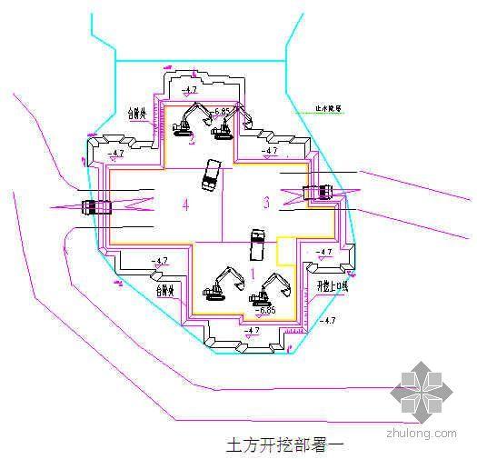 天津市某高层住宅小区基坑开挖施工方案(已通过专家论证)