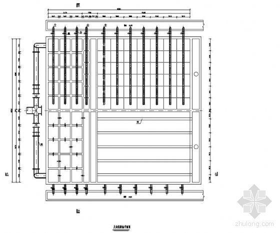 4.0万吨/天反应沉淀池工艺施工图