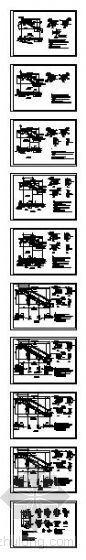 自动电扶梯通用图纸