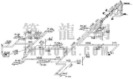 户式中央空调水系统图