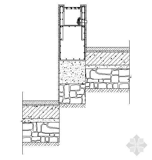 台阶花池剖面图2