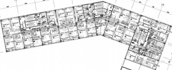 [山东]大型商业综合体强弱电施工图纸450张(甲级设计院)