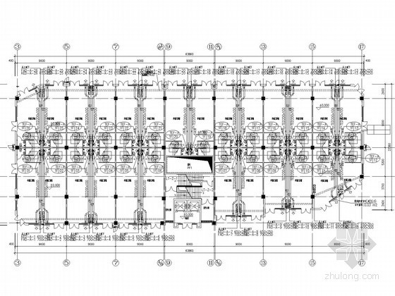 [江西]商业写字楼通风空调及防排烟系统设计施工图(含节能计算书)