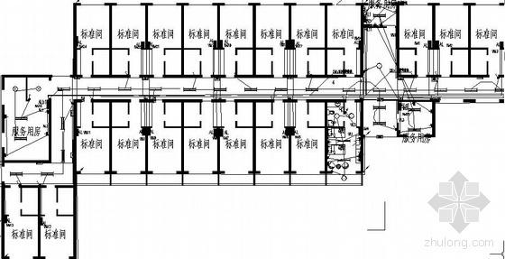 郑州某老年公寓电气施工图