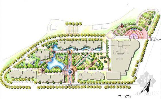 [毕业设计]湖南长沙某小区环境景观设计方案